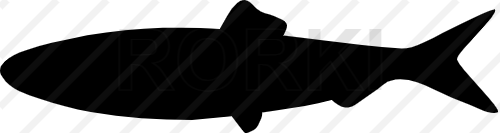 vector herring, silhouette, fisheries, fish, animal, food, design, atlantic, vector, catch, illustration, fin, icon, marine, seafood, cut out