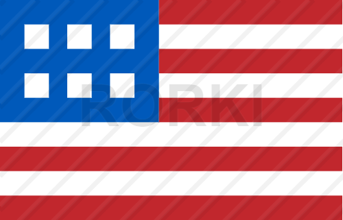 vector minimalist, american, flag, simplistic, united states, usa, 4th, july, patriotic, national
