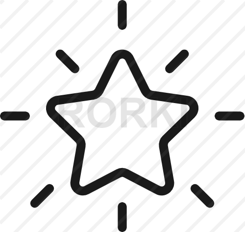 vector star shape, vector, icon, shining, shine, clean, rating, flat, symbol, bookmark, choice, choosing, rank, sign, voting, cut out