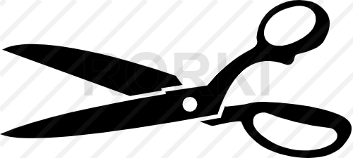 vector scissors, icon, vector, cutting, symbol, cut out, silhouette, illustration, clip art, tool, hair