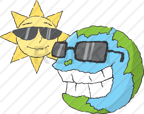 vector sun, globe, planet earth, day, smiley, face, cartoon, solar, space, vector, astronomy, planetary