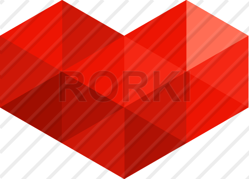 vector heart, vector, geometric, love, abstract, triangles, illustration, design, flat, mosaic, red, art, shapes, valentine's day, symbol, passion, flirting, romance, amour