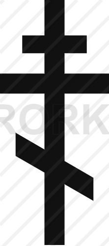 vector orthodox, cross, eastern, russian, church, crucifixion, belief, religion, christian, christianity, cut out